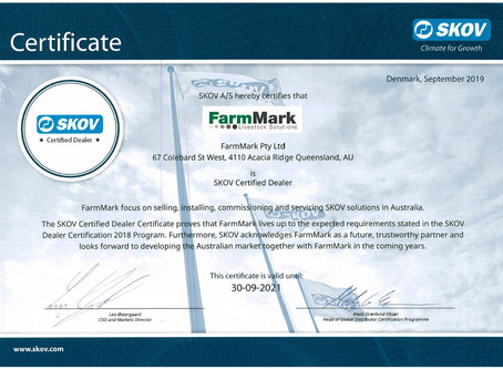FarmMark Awarded Global Service Distributor Status by SKOV
