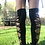 Thumbnail: Braided Knee High Socks #2