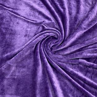 Purple Bamboo Velour