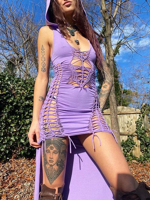 HiLow Hooded Dress