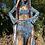 Thumbnail: Custom Trippy Pointed Skirt