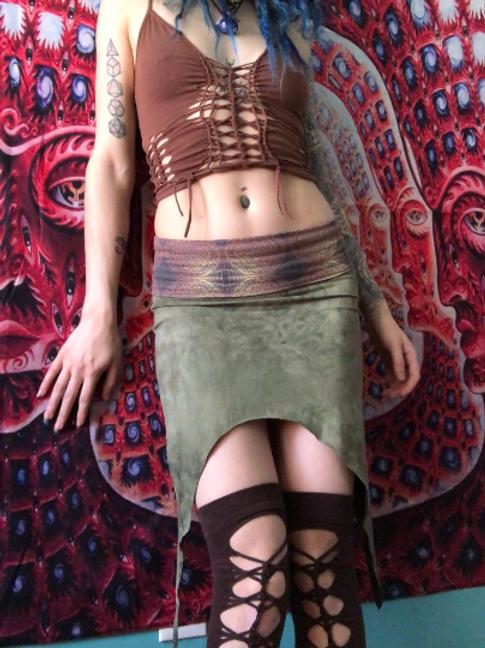 High Waist Pixie Skirt