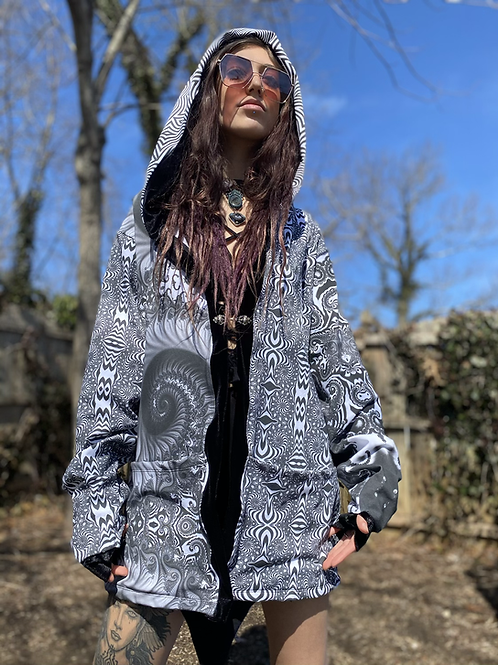Monochrome Magic Kimono
