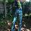 Thumbnail: Blue Fractal Hooded Set