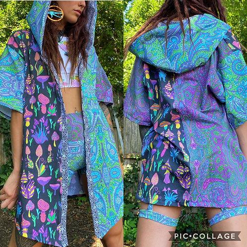 Paisley N' Shrooms Kimono