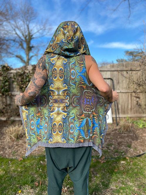 Men's Flowy Hooded Vest