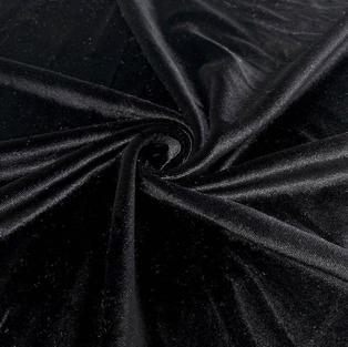 Black Bamboo Velour