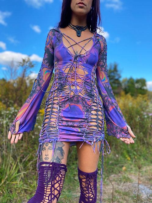 Lava Lamp Qween Dress