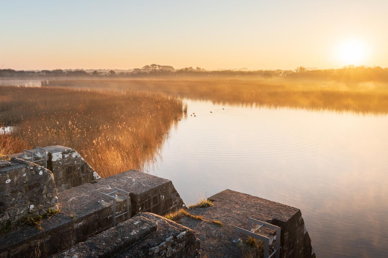 Brume matinale sur la baie de Goulven