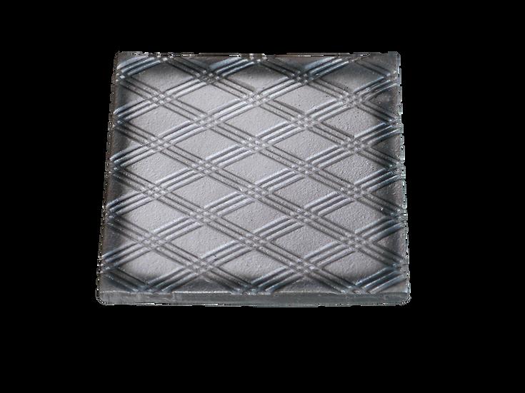 瓦コースター/正方形・三重菱