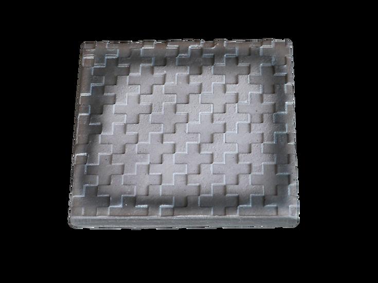 瓦コースター/正方形・モザイク