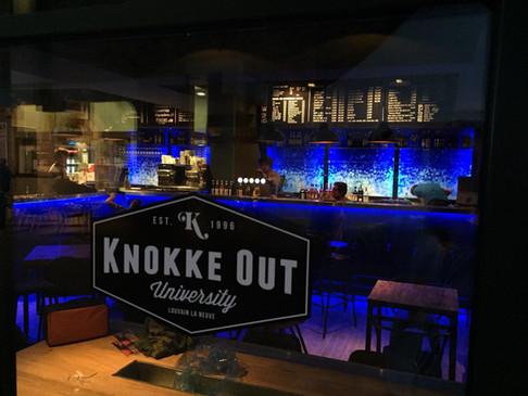 Knokke out - LLN