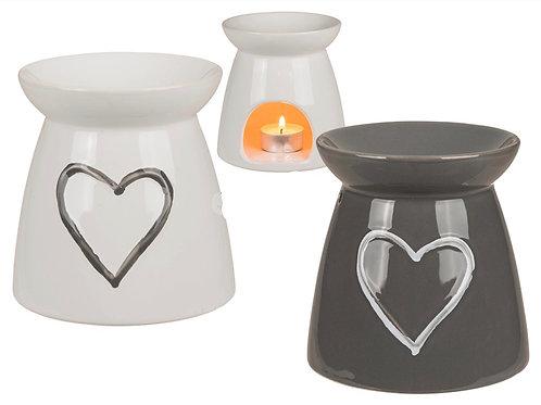 Ceramic Heart Design Burner