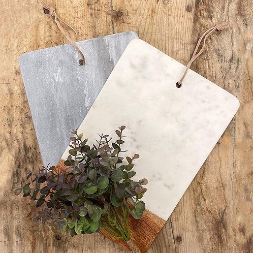 Wood & Marble Chopping Boards