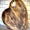 Thumbnail: Natural Wood Heart Chopping Board