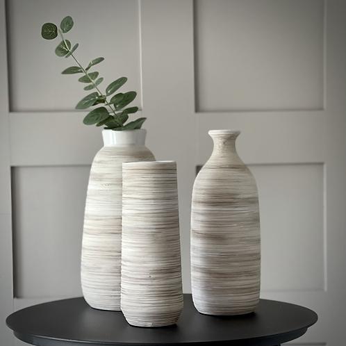 Natural Stoneware Vase