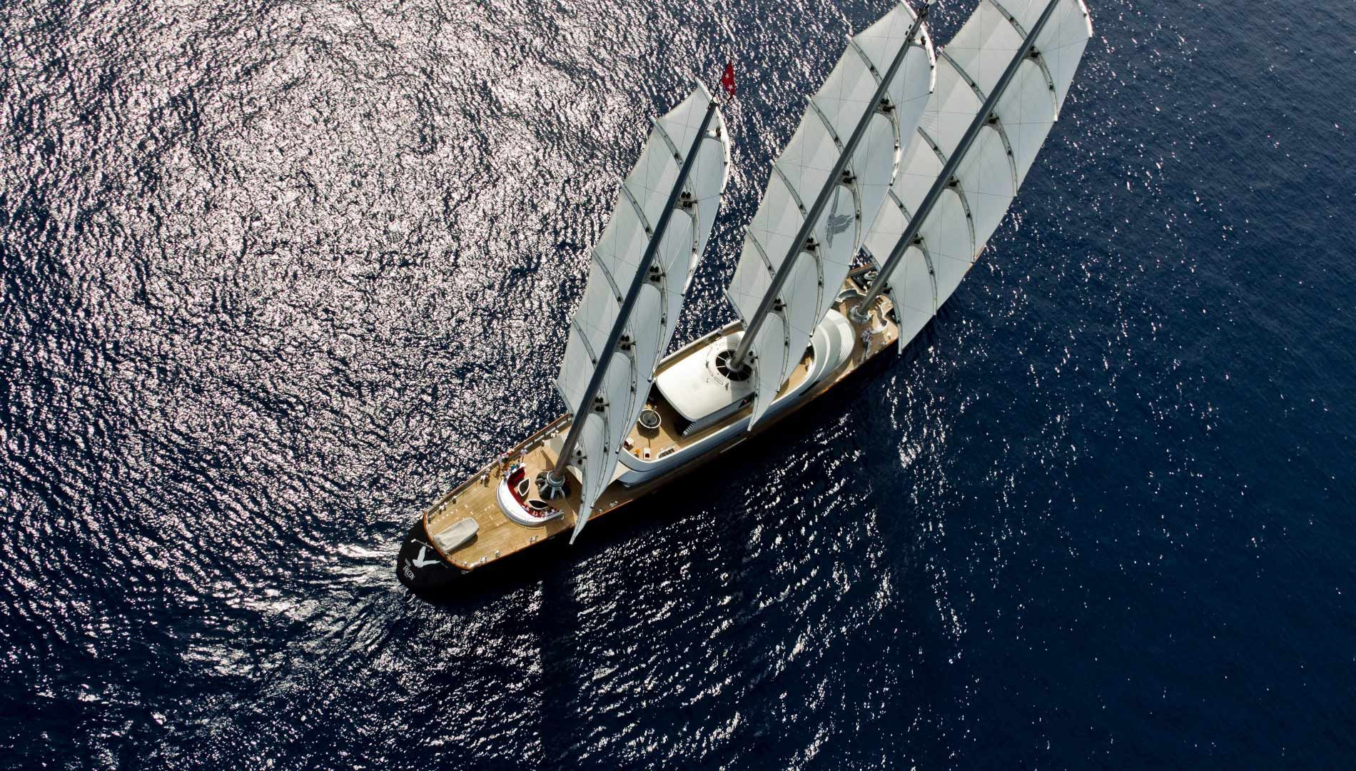 the thrill of high tech sailing