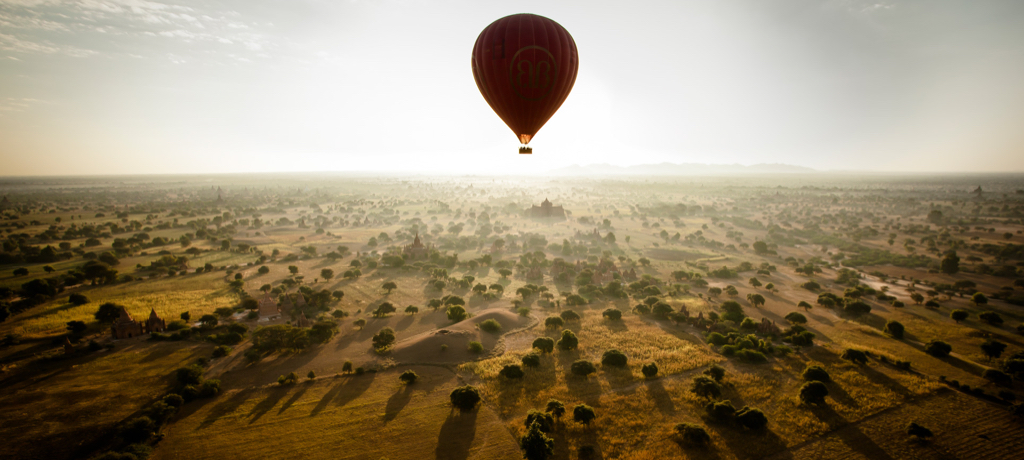 Myanmar Balloon adventure
