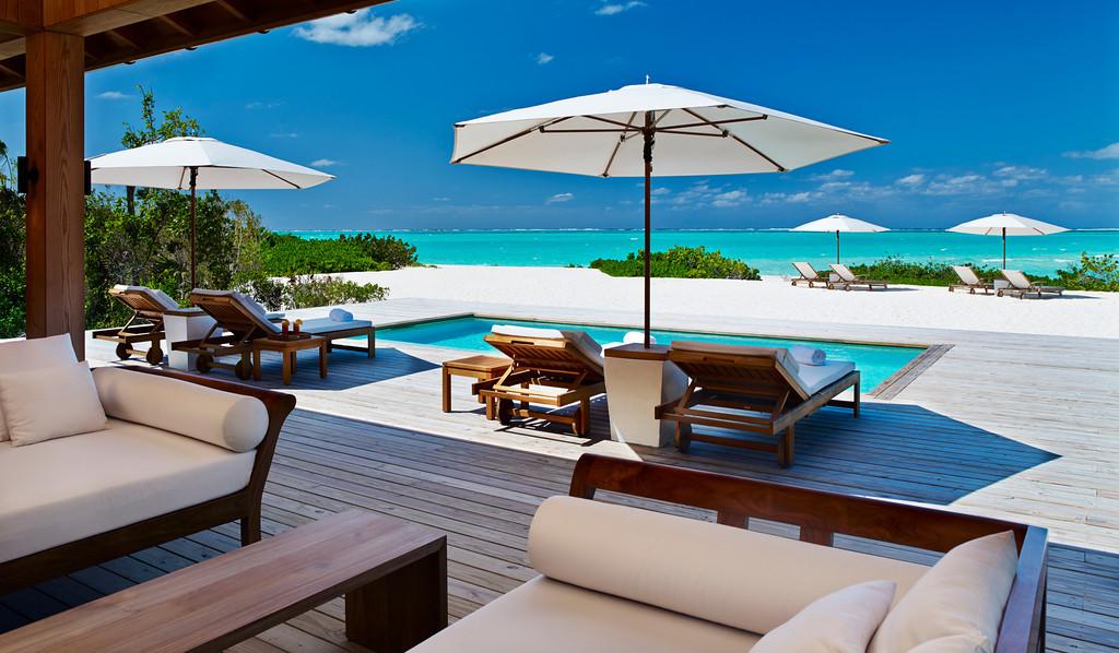 your beach house on Turks & Caicos