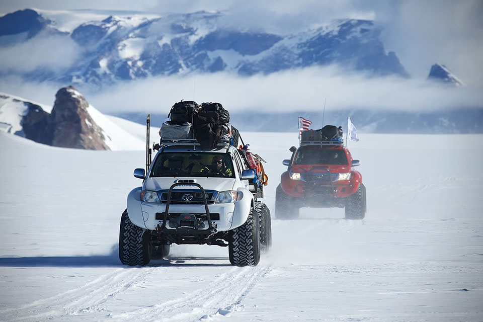 Arctic truck experience in Iceland