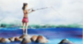 Girl Fishing on Rocks JillKG_edited.jpg