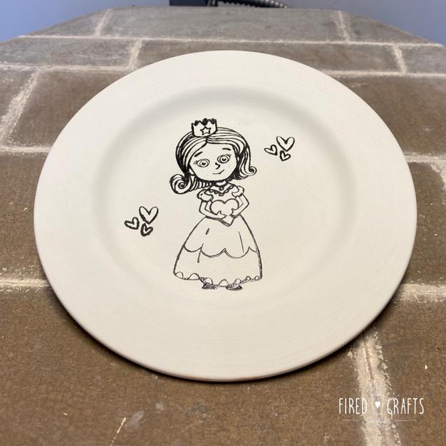 Princess Plate - £15-£17