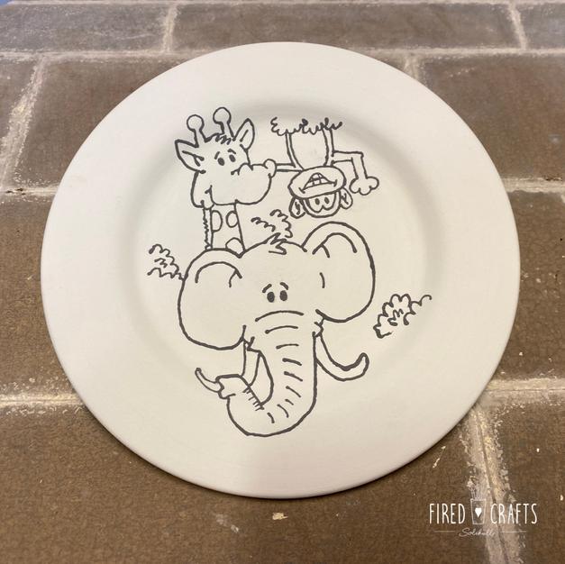 Jungle Plate £15-£17