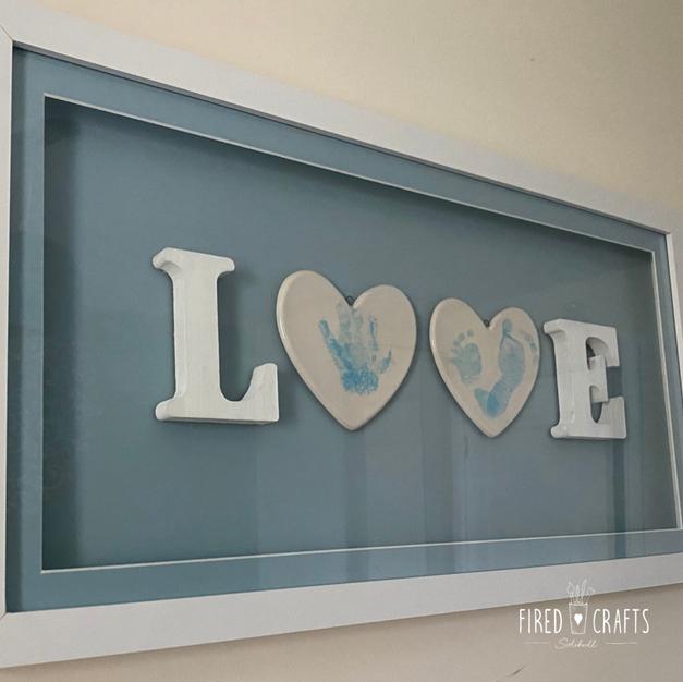 LOVE Frame Blue - £69
