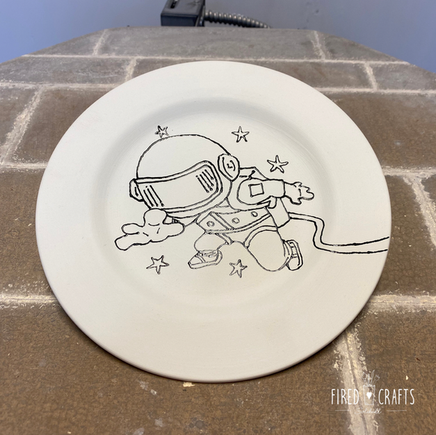 Space Plate - £15-£17