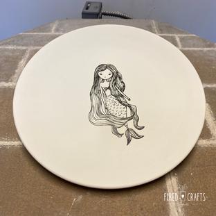 Mermaid Plate - £15-£17