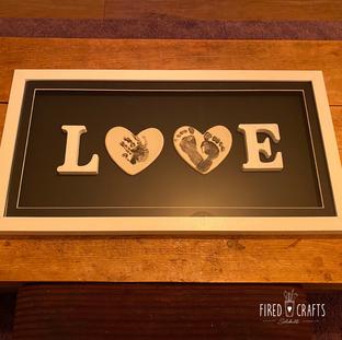 LOVE Frame Black - £69