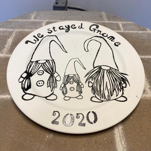 Gnome Plate £18