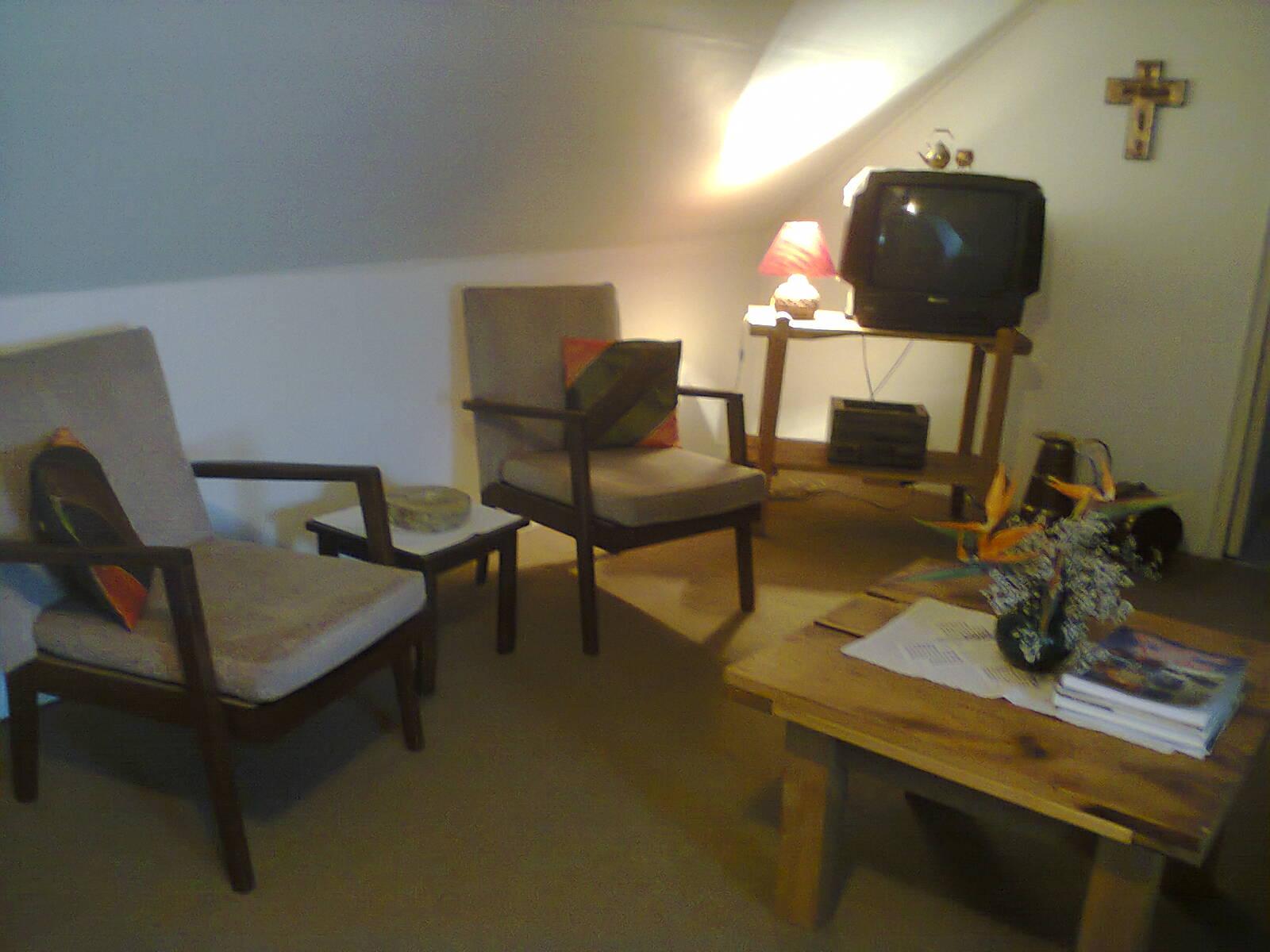 Loft room lounge area