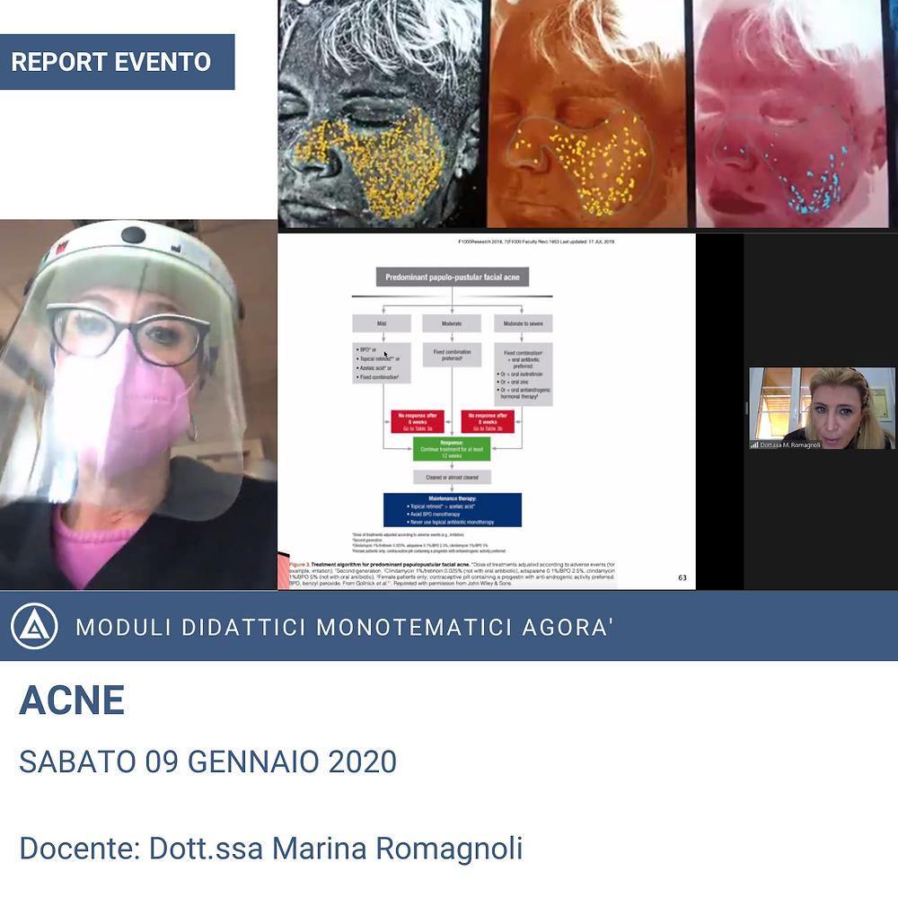 REPORT CORSO MEDICINA ESTETICA ACNE