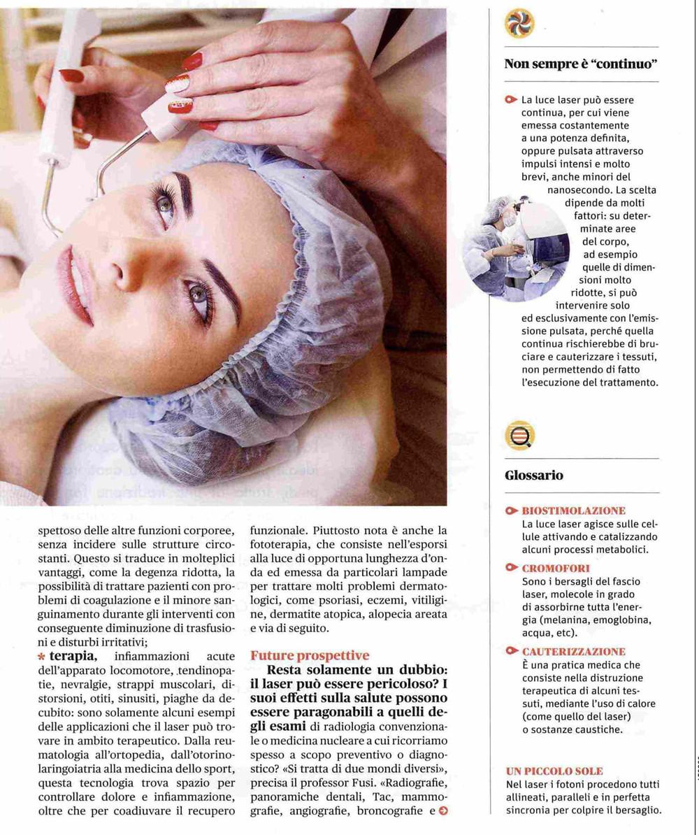 """La rivista """"Benessere"""" intervista il Prof. Alberto Massirone"""