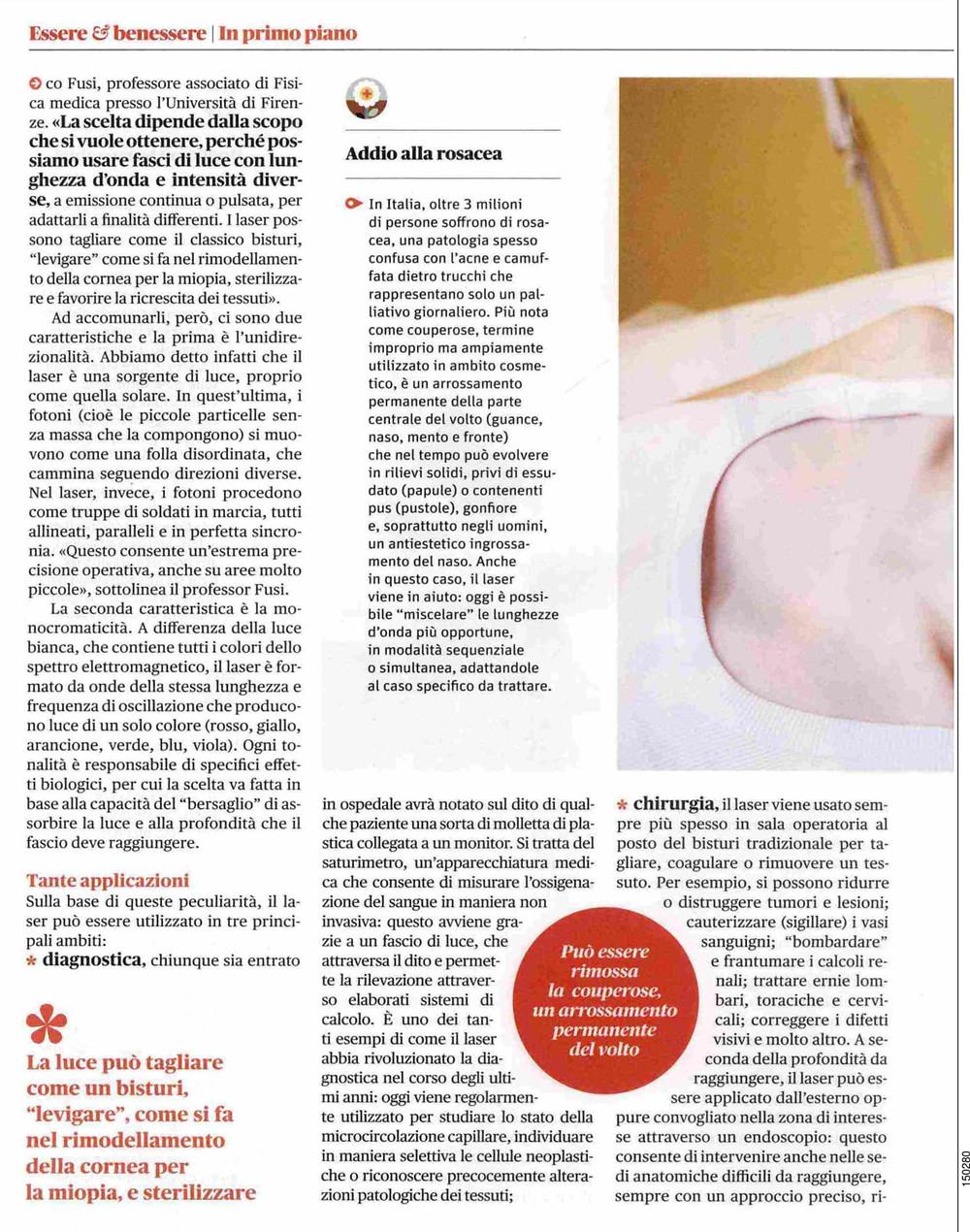 """Intervista su """"Benessere"""" - Prof Alberto Massirone"""