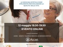 """Evento """"OLTRE L'ESTETICA: la Medicina Estetica come strumento per migliorare la qualità della vita"""""""