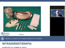 INTRADERMOTERAPIA - Recap corso monotematico 24.04.2021
