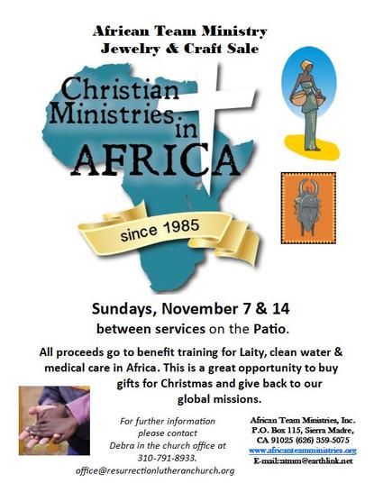 African Team Ministries Art Sale Nov 2021.JPG