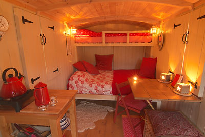 Herdwick Hut Interior