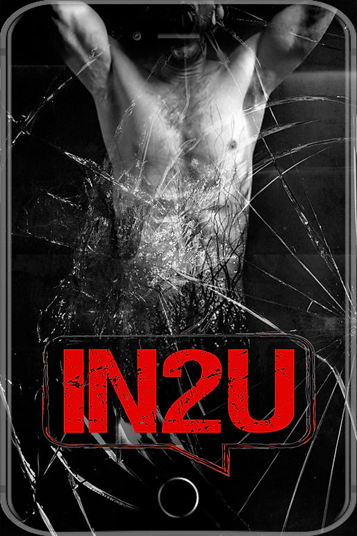 In2U Mockup Poster With Veins and Text -