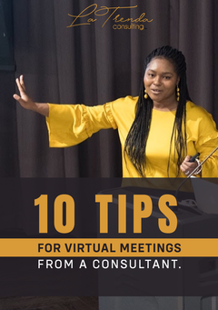 10 Tips for Virtual Meetings from a Consultant (FREE Checklist)