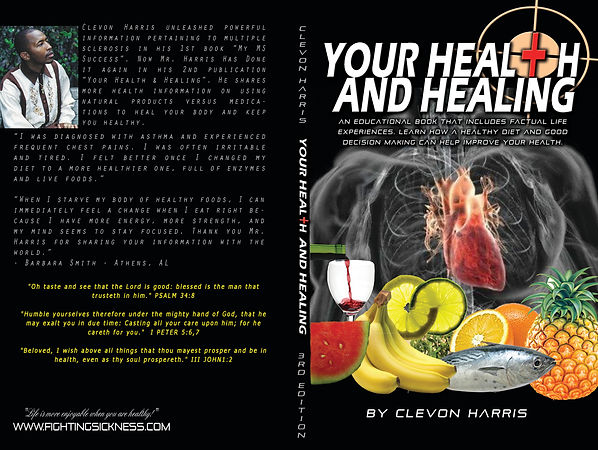 CLEVON your health and healing book PRIN