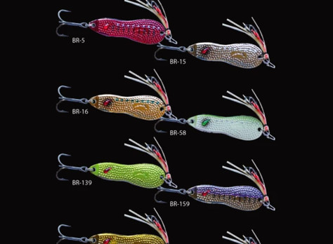 Nories Metal Wasaby 18g Hammered with Zx hooks