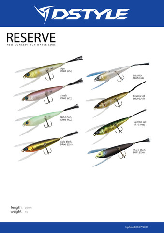 Dstyle Reserve is back