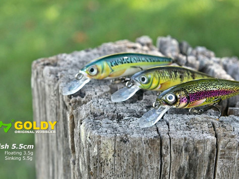 Goldy Lures - Goldfish