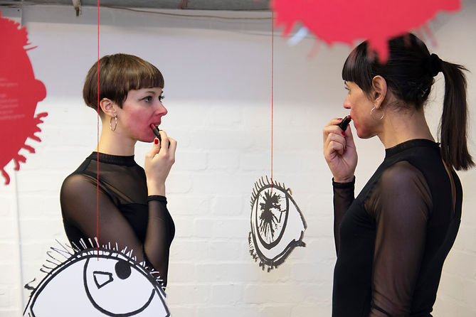 InXestuous Sisters_Kiss Me_at Queer Art(