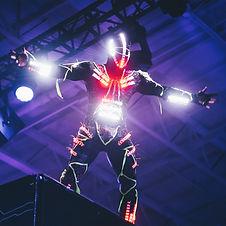 Futuristisches Kostüm
