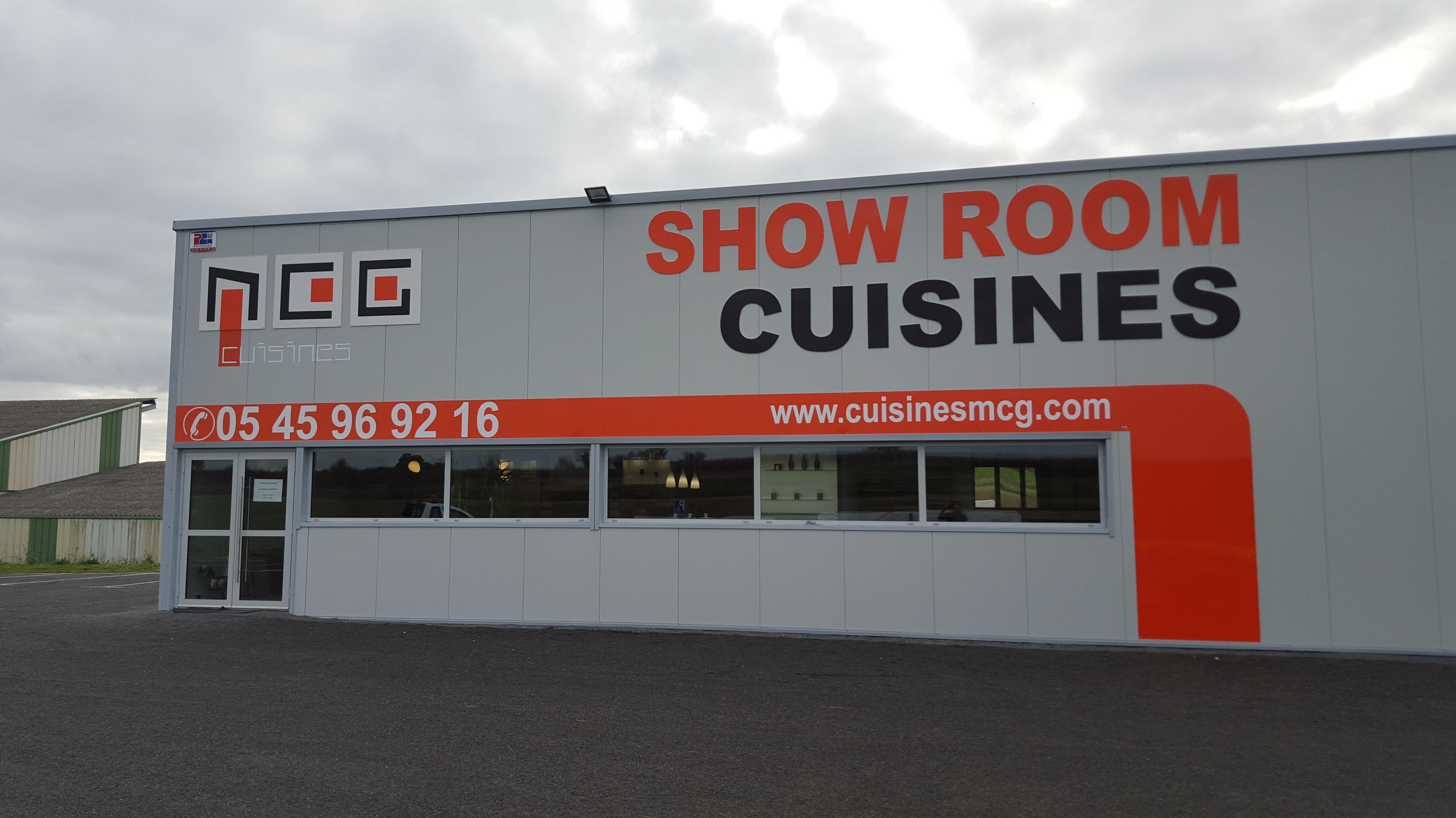 Enseigne Show Room Cuisines