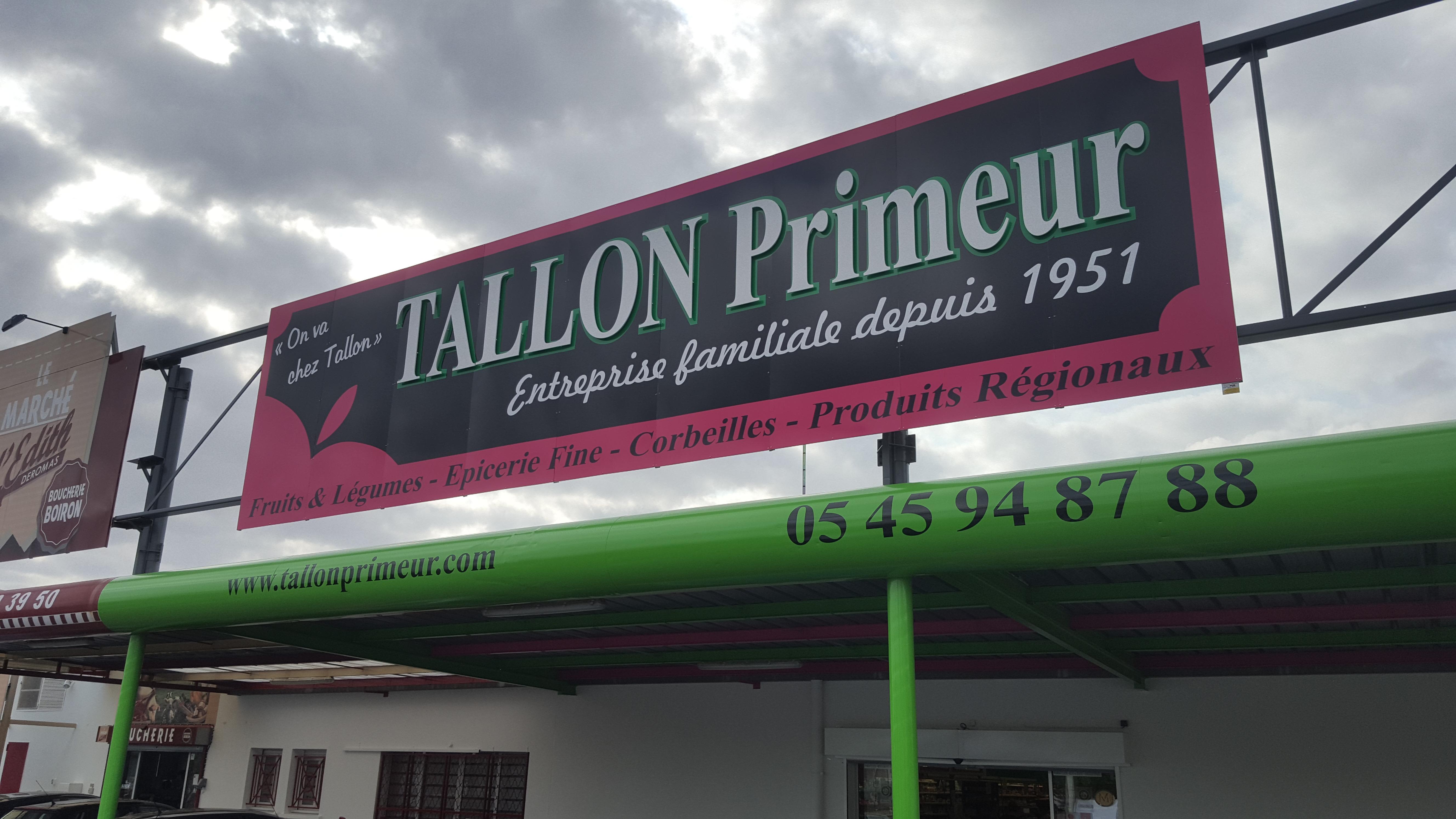 Enseigne Tallon Primeur